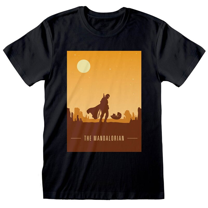 Star Wars: The Mandalorian T-Shirt -  Retro Poster XXL