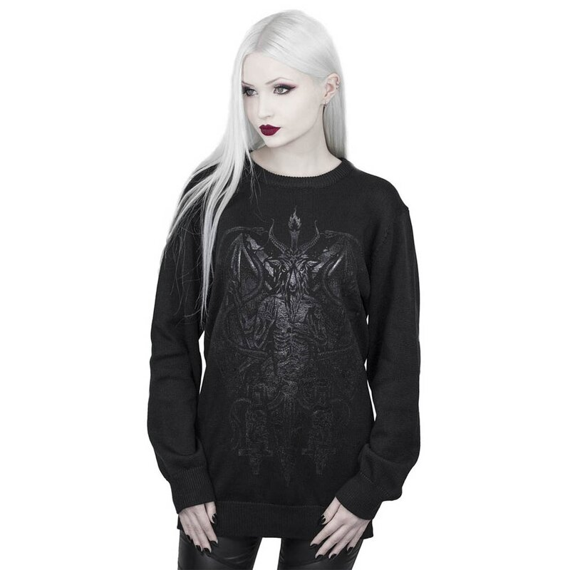 Killstar Strickpullover - Dark Prince