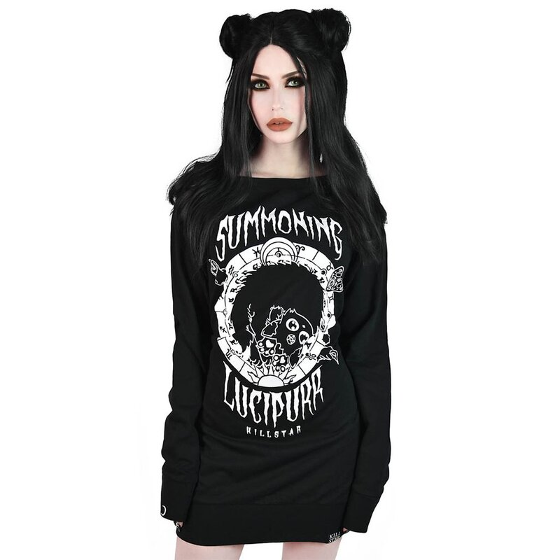 Killstar Sweater Minikleid - Lucipurr
