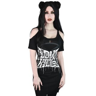 Killstar Strappy Top - Love Kills Distress