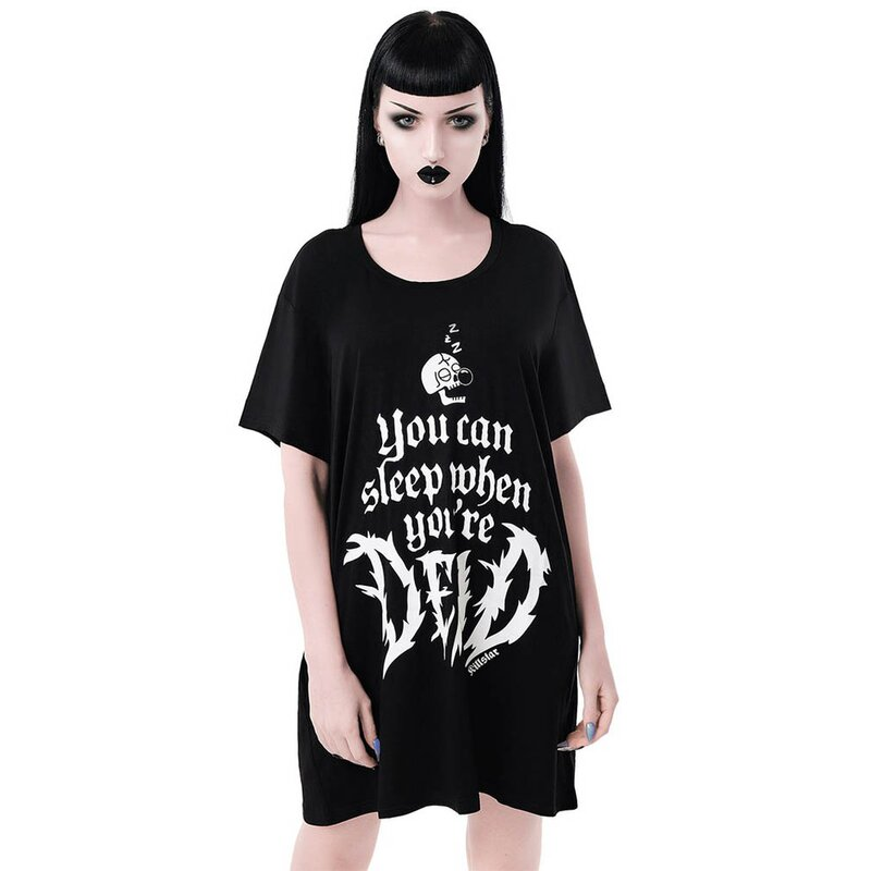Killstar Nachthemd - Dead Sleepy Shirt S