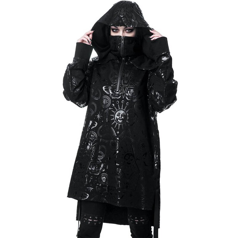 Killstar Kapuzenpullover - Beyond Black