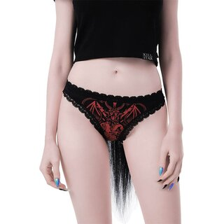Killstar Panty - Deadly Night Red