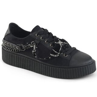 Demonia Canvas Sneaker - Sneeker-112