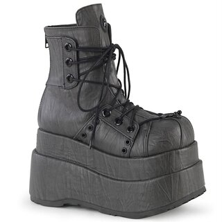 Demonia Platform Sneakers - Bear-120 Grey