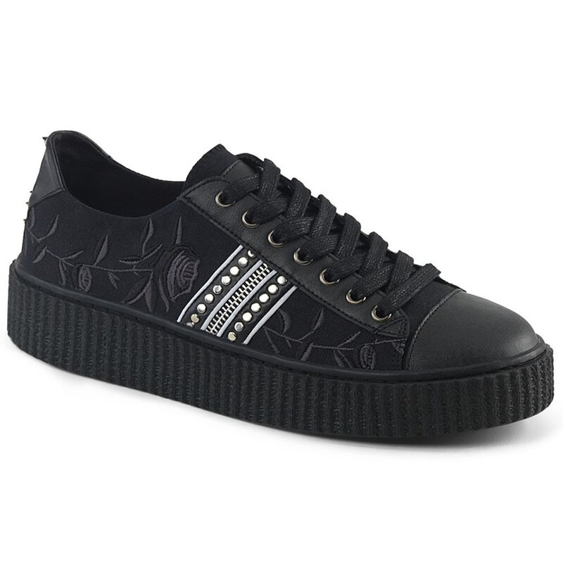 Demonia Canvas Sneakers - Sneeker-106