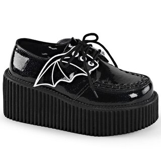 Demonia Sneakers - Creeper-205 Black