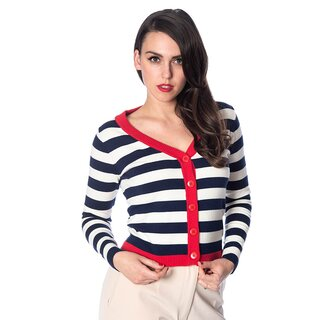 Banned Retro Cardigan - Sail Away
