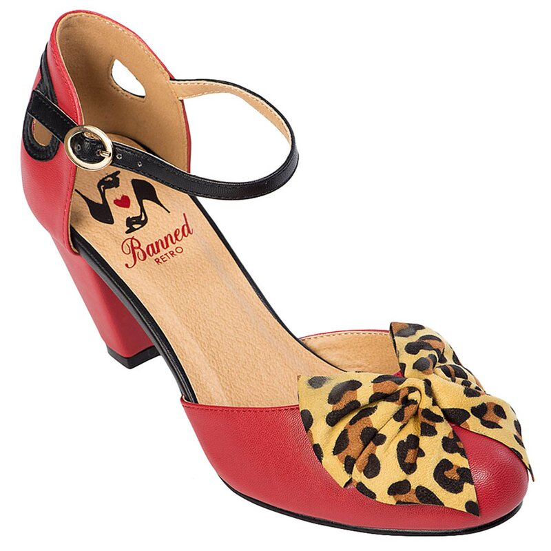 Banned Retro Pumps - Into The Wild Rot 39