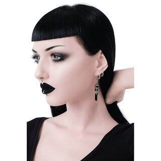 Killstar Earrings - Black Rose