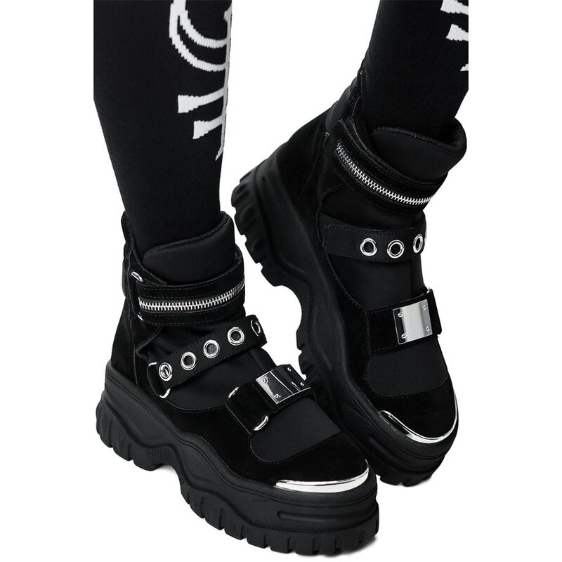 Killstar Plateaustiefel - Hunter 40