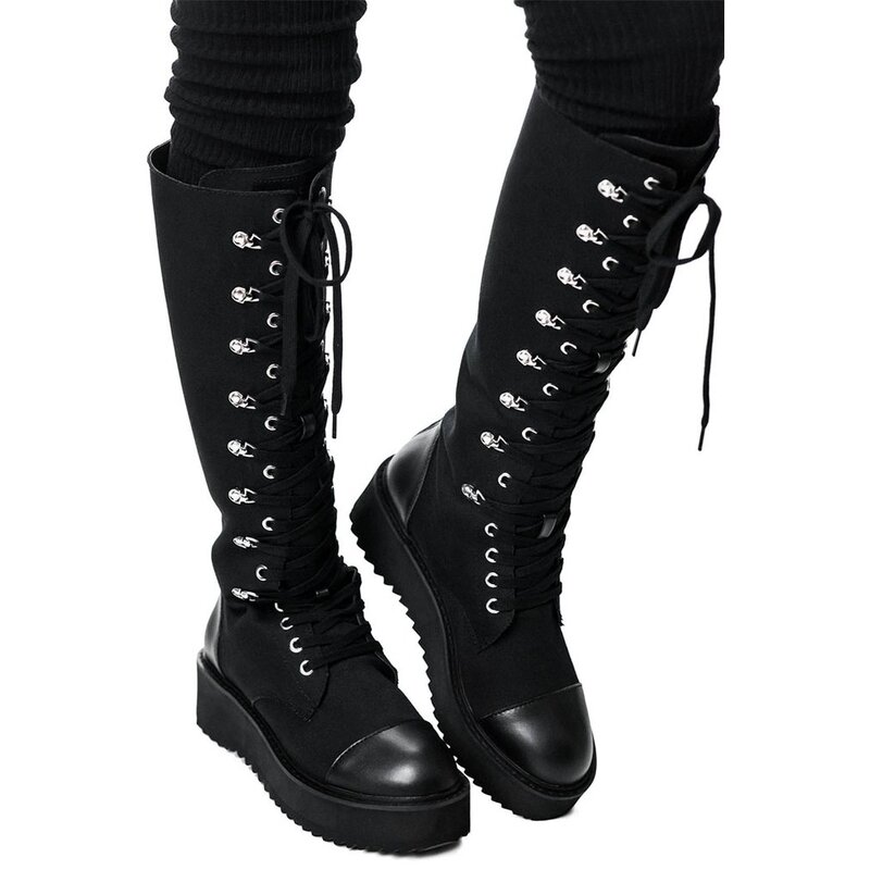 Killstar Combat Boots - Despair 42