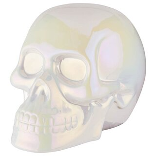 Killstar Decorative Skull - Skull Décor Aura White