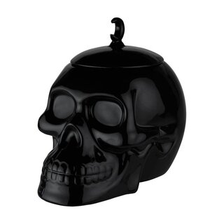Killstar Cookie Jar - Skull Black