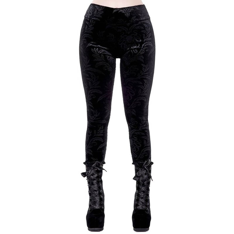 Killstar Samt Leggings - Soul Force L