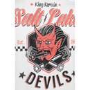 King Kerosin T-Shirt - Salt Lake Devils Weiß S
