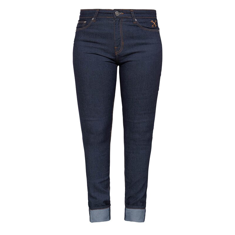 Queen Kerosin Jeans Hose - 5 Pocket Slim W26 / L32