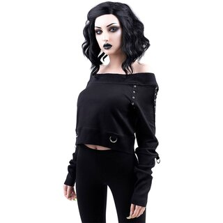 Killstar Bardot Crop Top - She Shreds
