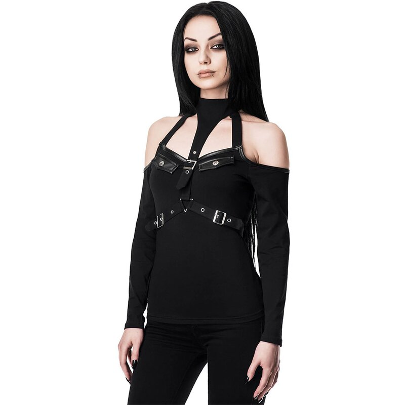 Killstar Halter Top - Siege