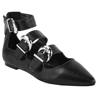 Killstar Ballerina Flats - Oracle