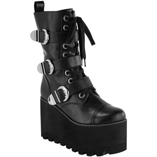 Killstar Platform Shoes - Oracle Wedge