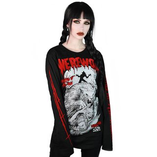 Killstar Long Sleeve T-Shirt - Werewolf