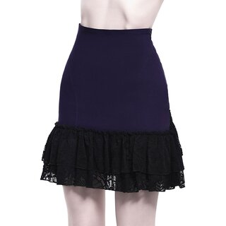 Killstar Bustle Skirt - Adoria Plum