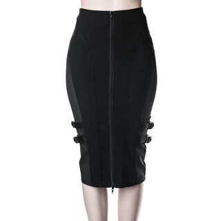 Killstar Pencil Skirt - Decibel