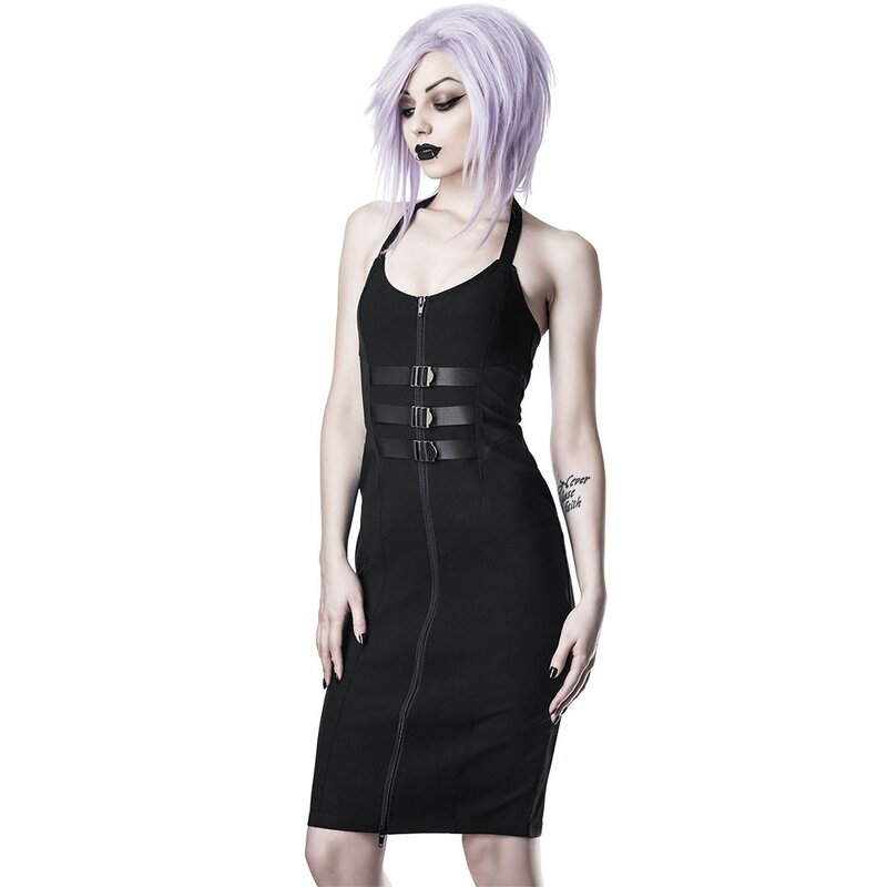 Killstar Bleistiftkleid - Modulate XS