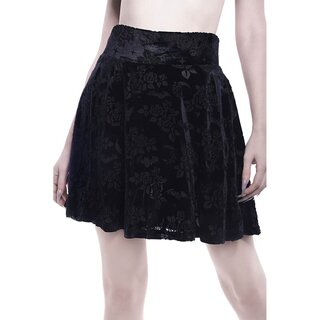 Killstar Mini Skirt - Crescent Nights