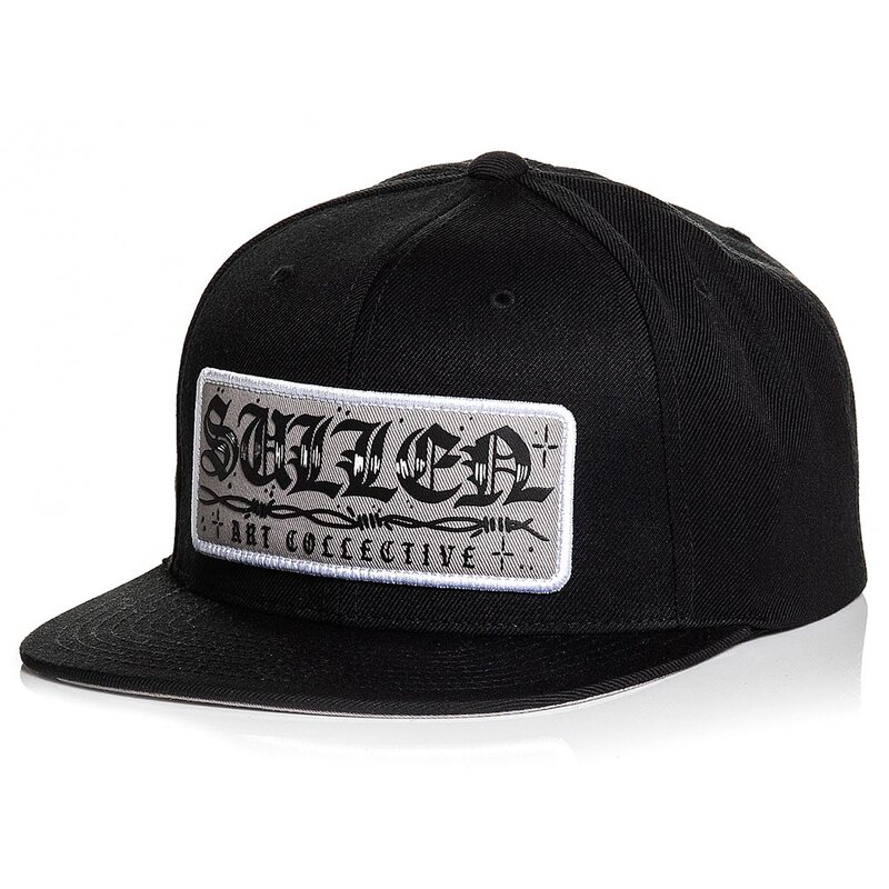 Sullen Clothing Snapback Cap - Wire