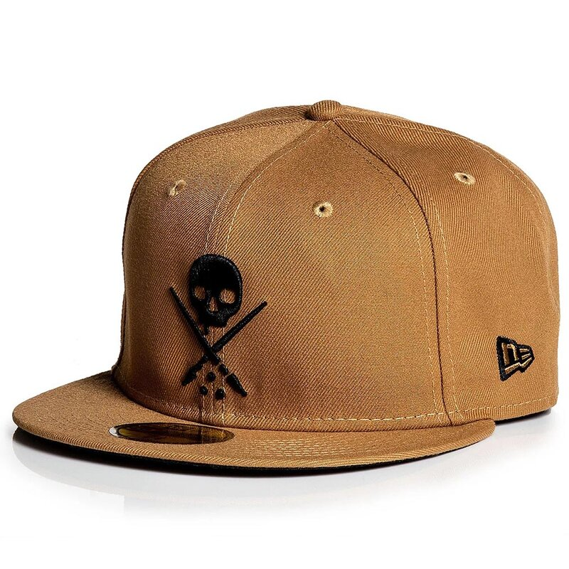 Sullen Clothing New Era Fitted Cap - Badge Wheat 8