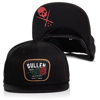 Sullen Clothing Snapback Cap - Red Rose