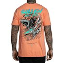 Sullen Clothing T-Shirt - Shredding Coral S