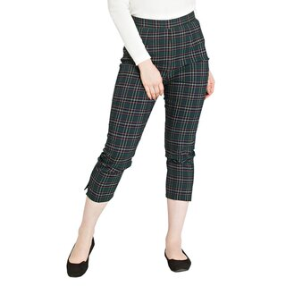 Hell Bunny Cigarette Trousers - Peebles