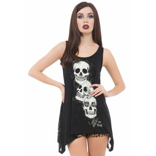 Jawbreaker Laceback Tank Top - Do No Evil