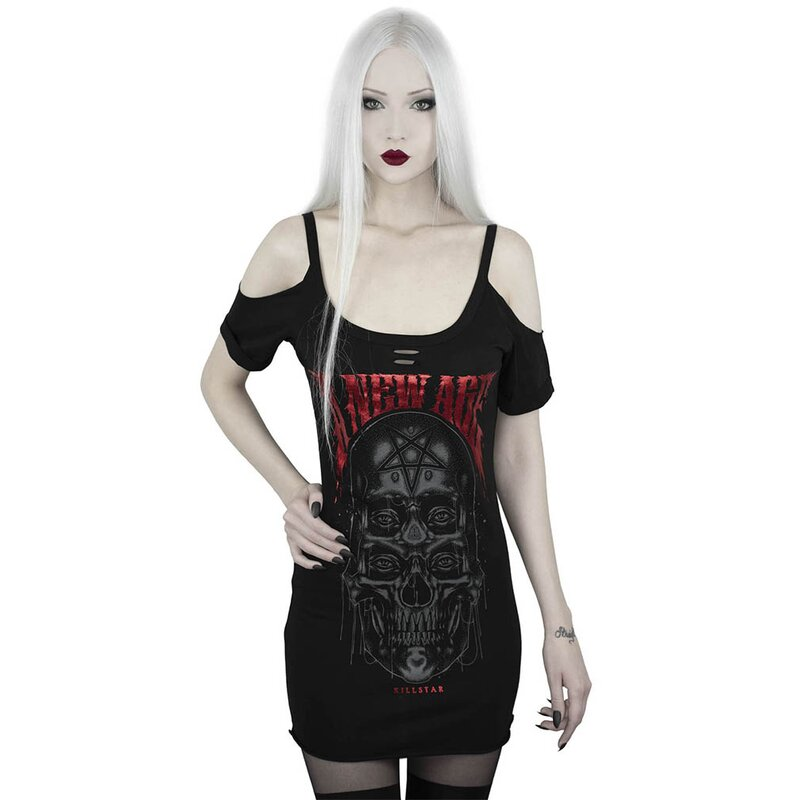Killstar Träger Top - New Age Distress 4XL