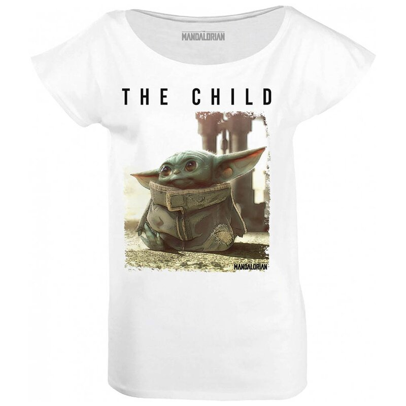 Star Wars: The Mandalorian Damen T-Shirt -  Baby Yoda The Child