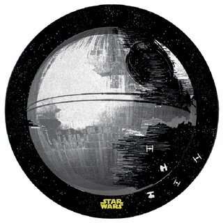 Star Wars Mini Teppich - Death Star