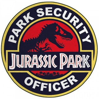 Jurassic Park Mini Teppich - Park Security Officer