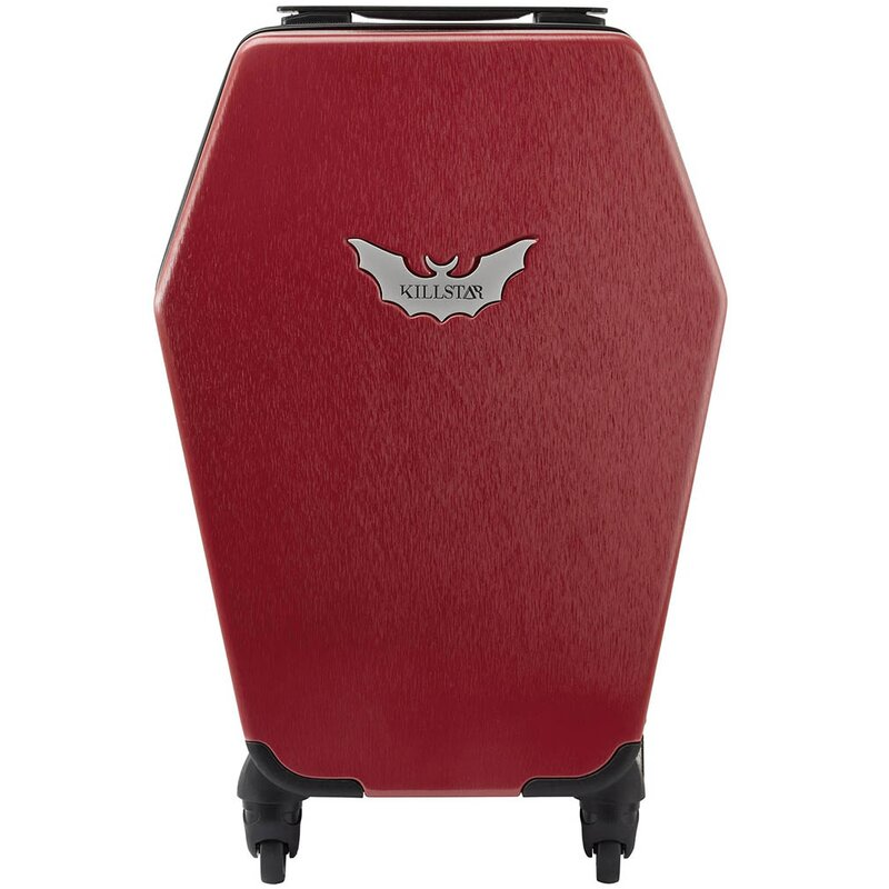 Killstar Suitcase - Casket Carry Case Blood