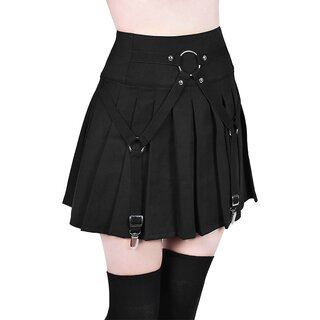 Killstar Pleated Mini Skirt - Vicious Vibes