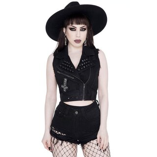 Killstar Denim Vest - Aleasha