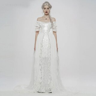 Punk Rave Ball Gown - Versailles White