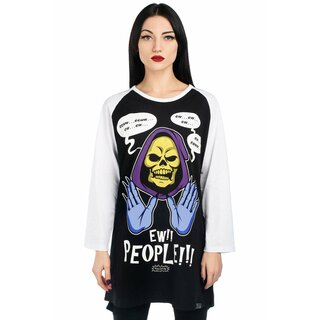 Killstar 3/4-Sleeve Raglan T-Shirt - Ew People