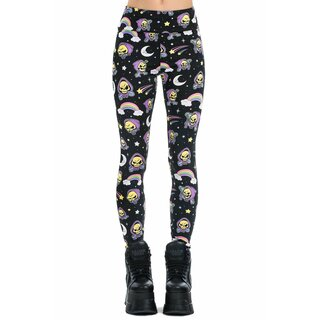Killstar X Skeletor Leggings - Not Cute