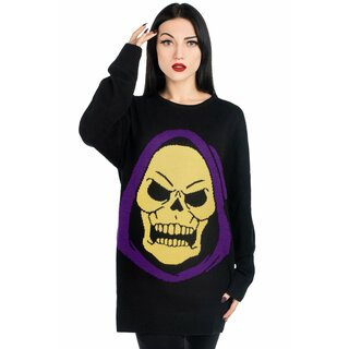 Killstar X Skeletor Knit Sweater - Skeletor