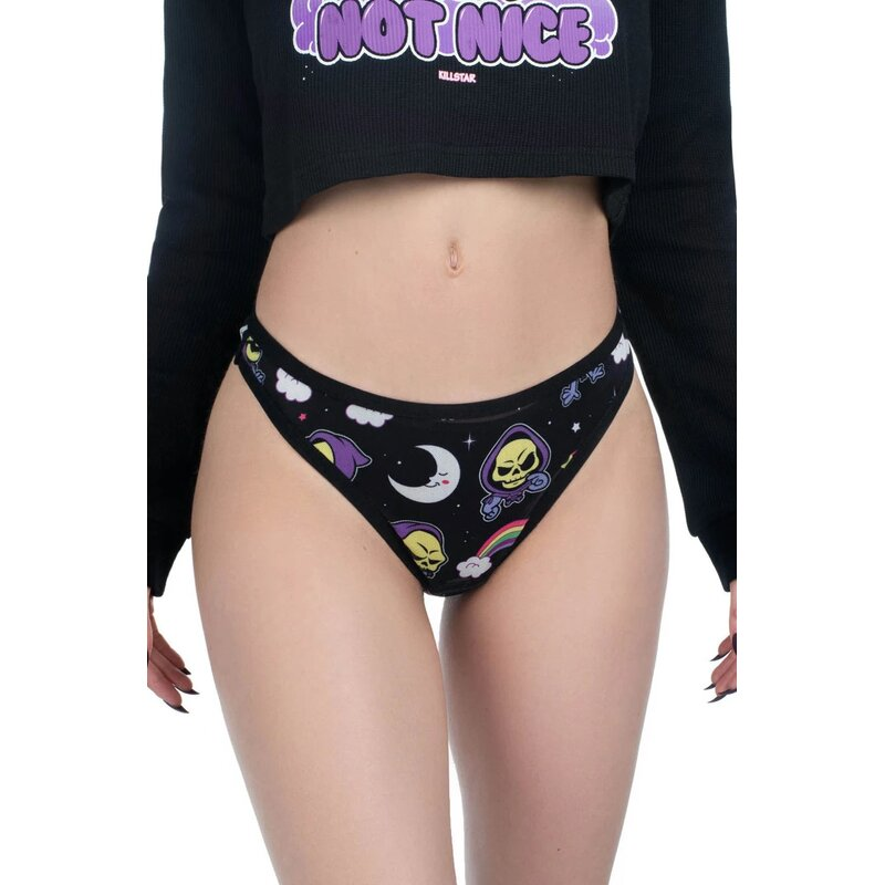 Killstar X Skeletor Damen Slip - Not Cute XL