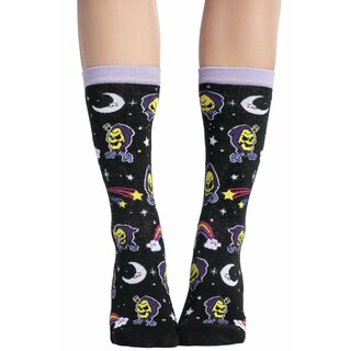 Killstar X Skeletor Socks - Not Cute