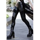 Killstar Kunstleder Leggings - Rock City